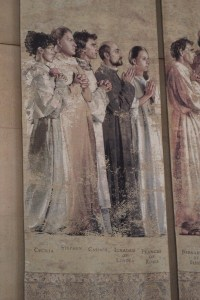 St Ignatius in the Tapestry