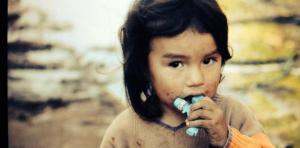 A young Paraguaya